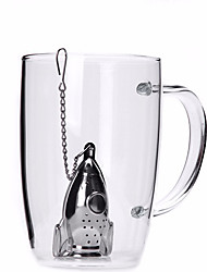 cheap -1pc Stainless Steel Tea Strainer Manual ,