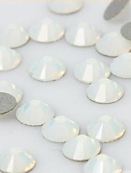 cheap -20PCS 5mm Post Opal Rhinestone Nail Art Decoration