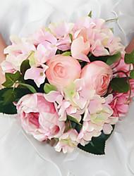 1 Une succursale Plastique Autres Roses Fleurs artificielles 20*20*24
