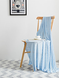 """Solid Knitted Blanket Bamboo Fiber 45""""*49"""""""