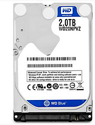 "economico -WD 2TB Laptop / Notebook Hard Disk Drive 5400rpm SATA 3.0 (6Gb / s) 8MB nascondiglio 2,5""-WD20NPVZ"