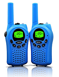 cheap -Walkie Talkies for Kids 22 Channels and durable  (up to 5KM in open areas) Colorful Walkie Talkies for Kids (1 Pair) T668