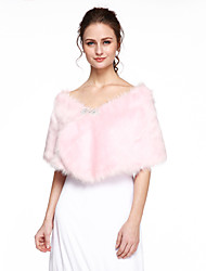cheap -Faux Fur Wedding Party Evening Women's Wrap Capelets