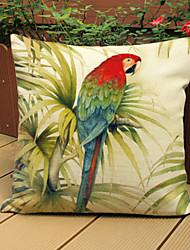 1 pcs Linen Pillow Case,Animal Print Modern/Contemporary