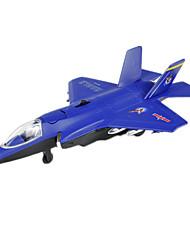 abordables -Aviones y helicópteros Empujar y jalar algún juguete 1:10 Plástico Rojo Verde Azul Gris