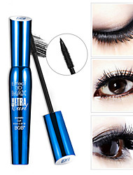 1Pcs  3D Fiber Lashes Rimel Mascara Makeup Cosmetics Ink Gel Natural Fibers Waterproof Eyelash Cosmetics Eyes