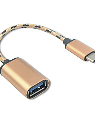 Недорогие -USB 3.1 Type C USB 3.1 Type C to USB 2.0 0.18m (0.6Ft)