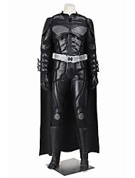Superhéros Forme Chauve-Souris Cosplay Costume de Cosplay Costume de Soirée Bal Masqué Pour Halloween Cosplay de Film Haut Pantalon Gants