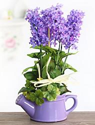 Color random Korean simulation bonsai series Large hyacinth potted flower suit the simulation of pot plants