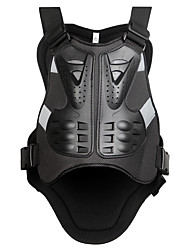 cheap -WOSAWE Motorcycles Motocross Chest Protector Armour Vest Racing Protective Body-Guard Armor PE Guards Race Back Support