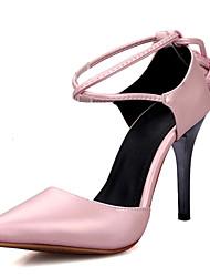 Da donna Tacchi Cinturino alla caviglia Club Shoes Finta pelle Primavera Estate Autunno Inverno Casual Formale Serata e festaCinturino