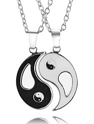 cheap -Men's Women's Unique Design Pendant Necklace Jewelry Alloy Pendant Necklace , Party Daily
