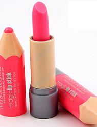 Недорогие -1шт бальзам для губ фантастические карандаши фанки унисекс карандаш в форме цвета случайный