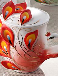 Copos Inovadores Xícaras de Chá Copos de Vinho Garrafas de Água Canecas de Café 1 PC Cerâmica, -  Alta qualidade