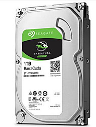 abordables -Seagate 1 To Disque dur de bureau 7200rpm SATA 3.0 (6Gb / s) 64Mo cachetteBarraCuda