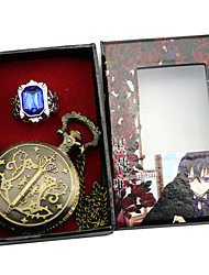 cheap -Clock/Watch Cosplay Accessories Inspired by Black Butler Ciel Phantomhive Anime Cosplay Accessories Clock/Watch Ring Alloy Men's