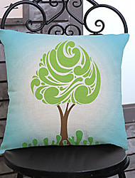 1 pcs Strange little tree printing Linen Pillow Case Animal Print Modern/Contemporary