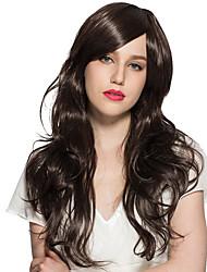 Ženy Černá Kudrnaté Umělé vlasy Bez krytky Přírodní paruka paruky