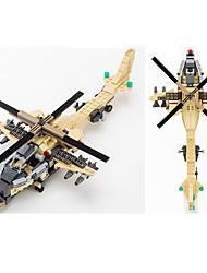 cheap -Building Blocks Helicopter Toys Tank Plane / Aircraft Fighter Helicopter Professional Level ABS Boys' 679 Pieces
