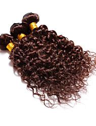 cheap -Brazilian Hair Wavy Human Hair Weaves 4 Pieces 0.3