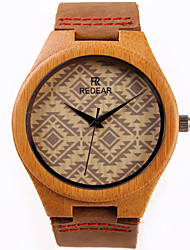 cheap -Women's Fashion Watch Wood Watch Quartz / Wood Band Casual Brown