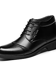 Herren Schuhe Leder Frühling Sommer Herbst Winter Modische Stiefel Komfort Outdoor Schnürsenkel Rüschen Für Normal Party & Festivität