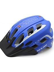Недорогие -Мотоциклетный шлем Велоспорт 19 Вентиляционные клапаны One Piece Горные Город Горные велосипеды Шоссейные велосипеды Велосипедный спорт