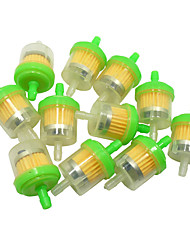 abordables -Filtro universal de la gasolina del combustible de gas del atv de la motocicleta 100pcs / lot para suzuki 70-200cc