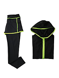 Women's Tracksuit Long Sleeves Quick Dry Breathable Hoodie Pants / Trousers Clothing Suits Top for Yoga Exercise & Fitness Running Modal