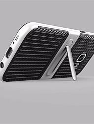 economico -Custodia Per Samsung Galaxy S8 Plus S8 Con supporto Custodia posteriore Tinta unica Resistente Fibra di carbonio per S8 S8 Plus S7 edge