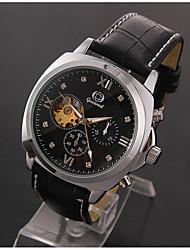cheap -Men's Sport Watch Dress Watch Fashion Watch Wrist watch Mechanical Watch Automatic self-winding Genuine Leather Band Charm Casual