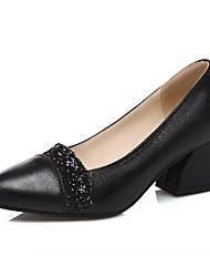 cheap -Women's Heels Spring Summer Fall Winter Comfort Novelty PU Synthetic Wedding Office & Career Party & Evening Dress Casual Stiletto Heel