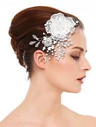 Недорогие -кристалл кружева горный хрусталь волосы гребни головной убор классический женский стиль
