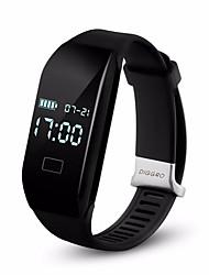 Недорогие -2017 diggro h3 браслет умные часы частота сердечных сокращений Bluetooth 4.0 шагомер калорий монитор сна смарт напульсники для андроид КСН