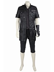cheap -Inspired by Final Fantasy Noctis Lucis Caelum Video Game Cosplay Costumes Cosplay Suits Cosplay Tops/Bottoms Solid Coat Top Gloves Belt