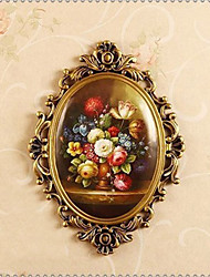 Creative Flowers Bowl Furnishing Articles Flowers Basket Resin Desktop Decoration Luxury European Top-Grade Process