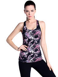 cheap -Women's Running Tank Sleeveless Breathable Top for Yoga Exercise & Fitness Running Tactel Black M L XL