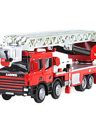 Toy Cars Toys Fire Engine Vehicle Retractable Truck ABS Plastic Metal Boys' Girls' Birthday Children's Day Gift Action & Toy Figures