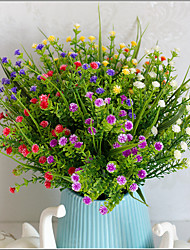 1 Ramo Plástico Cabo Outras Outras Flor de Mesa Flores artificiais 7*7*29