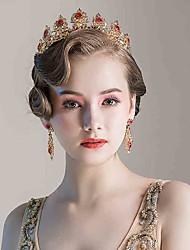 rhinestone legering tiaras hovedstykke elegant klassisk feminin stil