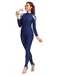 BlueDive® Per donna Per uomo Dive Skins Muta intera Mute Asciugatura rapida Resistente ai raggi UV Totalmente elastico Comodo Crema solare