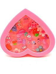 Holiday Decorations Finger Puppet Toys Heart-Shaped Novelty Kids Girls' Pieces
