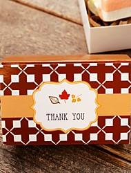 Cubóide Papel de Cartão Suportes para Lembrancinhas Com Caixas de Ofertas Bolsas de Ofertas Latinhas Lembrança Jarros e Garrafas para