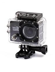 Action cam / Sport cam 4608 x 3456 Wi-fi Impermeabile Resistente agli urti 2 CMOS 32 GB Formato H.264 30 M Universali Viaggi