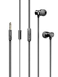 Joway HP28 dans l'oreille d'interface écouteurs de 3,5 mm avec un casque de contrôle fil télécommande et micro pour les smartphones /