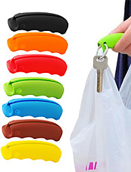 Bag Carrying Handle Tools Silicone Knob Relaxed Carry Shopping Handle Bag Clips Handler Kitchen Tools 1Piece Random Color