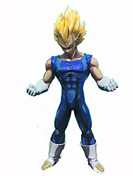 cheap -Anime Action Figures Inspired by Dragon Ball Vegeta PVC 19 CM Model Toys Doll Toy