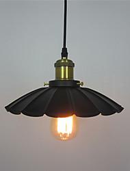 ciondolo d'epoca luci soppalco metallo nero ombra sala da pranzo lampade a sospensione bar vestiti negozio lampada
