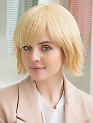 cheap -Fashion Prevailing Attractive Bobo Head Human Hair Wig
