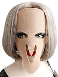 Недорогие -Маски на Хэллоуин Творчество Cool Кожа Плюш Взрослые Мальчики Девочки Игрушки Подарок 1 pcs
